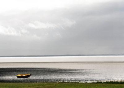 minimal boat at beach 2